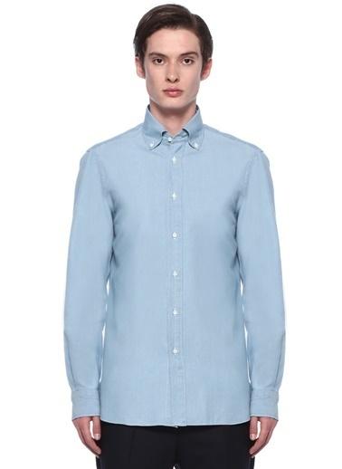 Eidos Gömlek Mavi